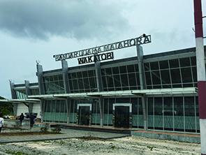 Wangi Wangi, Provinsi Sulawesi Tenggara