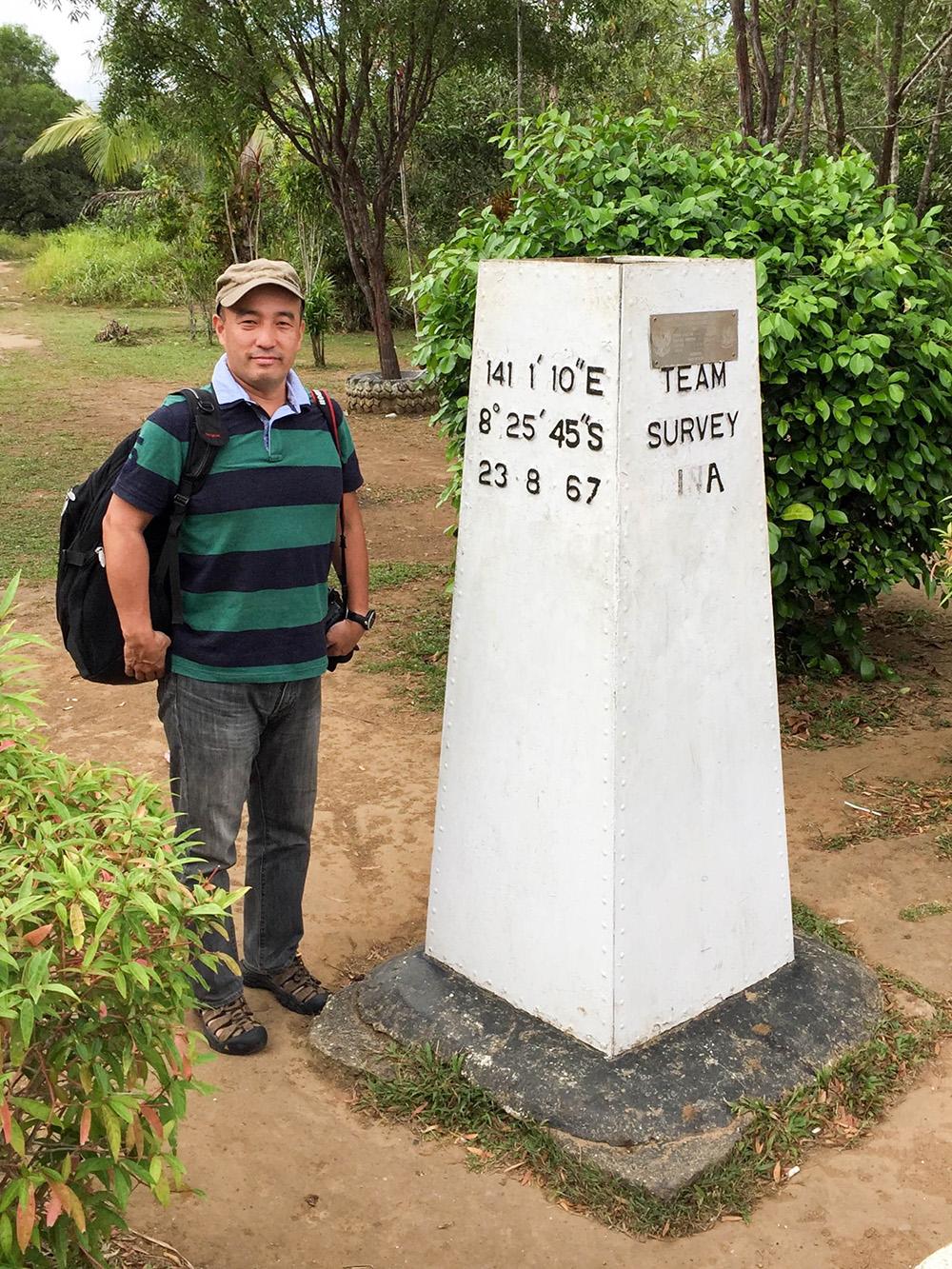 nabeyama_papua_PNGとの国境1