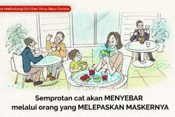 インドネシア語版動画「外はペンキ塗りたての世界」