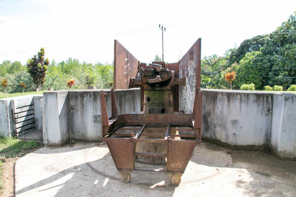 北カリマンタン、砲台