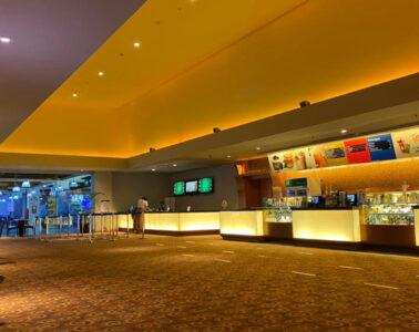 断食月中の映画館